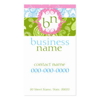 Sweet Colors Business Card
