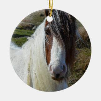 Sweet Connemera Pony Ceramic Ornament