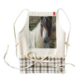 Sweet Connemera Pony Zazzle HEART Apron