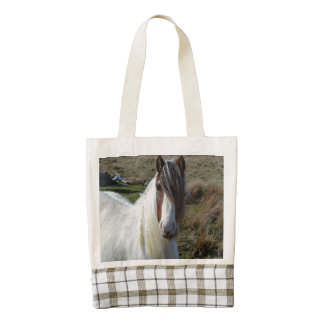 Sweet Connemera Pony Zazzle HEART Tote Bag