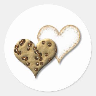 Sweet Cookie Love Classic Round Sticker
