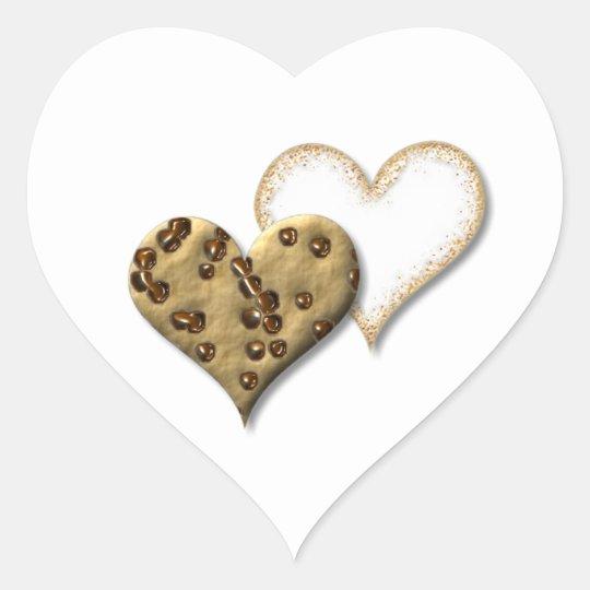 Sweet Cookie Love Heart Sticker
