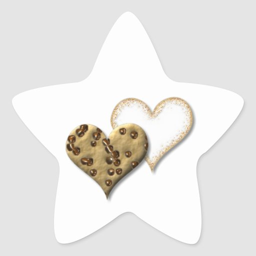 Sweet Cookie Love Star Sticker