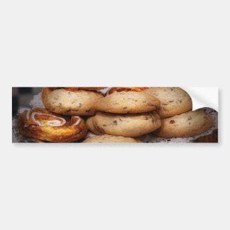 Sweet - Cookies - Cookies and Danish Bumper Sticker