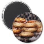 Sweet - Cookies - Cookies and Danish Fridge Magnet