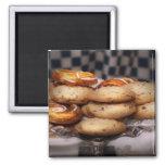 Sweet - Cookies - Cookies and Danish Fridge Magnets
