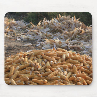 Sweet Corn and Husks Mouse Pads