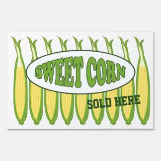 Sweet Corn Farm Stand Lg Yard Sign