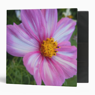 Sweet Cosmo with Pink and White Petals Binder