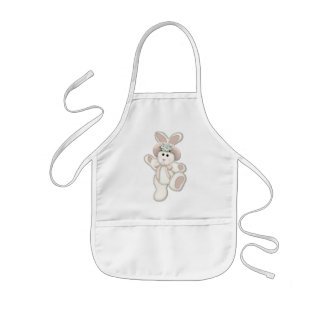 Sweet Country Bunny Kids' Apron