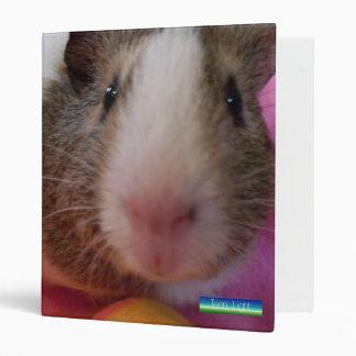 Sweet Creations ~ Guinea Pig 3 Ring Binder