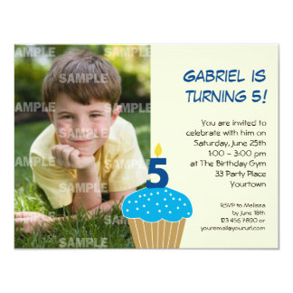 5 Year Old Birthday Invitations Announcements Zazzle