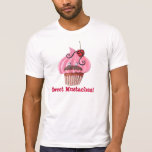 Sweet Cupcake and Mustaches Tees