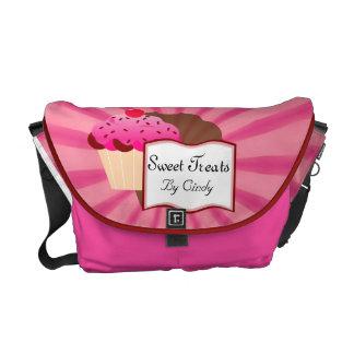 Sweet Cupcake Bakery Messenger Bag