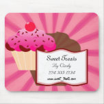 Sweet Cupcake Bakery Mouse Pad