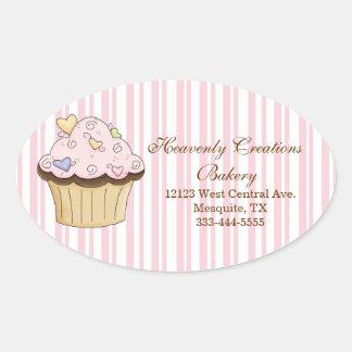 Sweet Cupcake Bakery Stickers