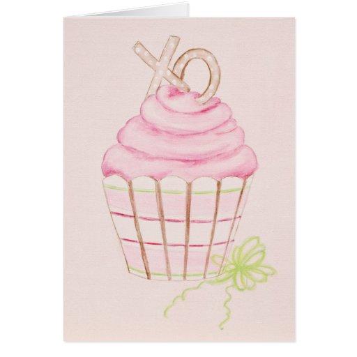 Sweet Cupcake Greet Card