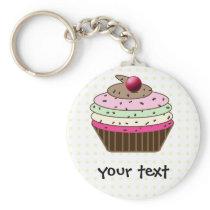 Sweet Cupcake Keychain