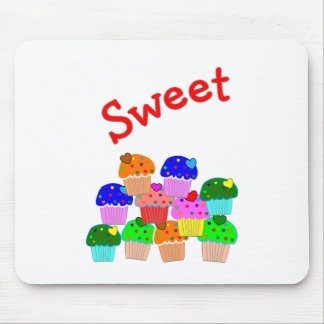 """Sweet""  Cupcake Lovers Gifts Mouse Mat"