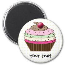 Sweet Cupcake Magnet
