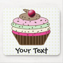 Sweet Cupcake Mouse Pad