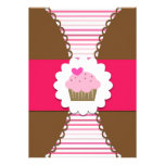 Sweet Cupcake Party Invitation for Kids