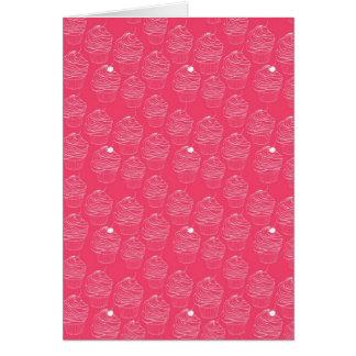 Sweet Cupcake Pattern Card