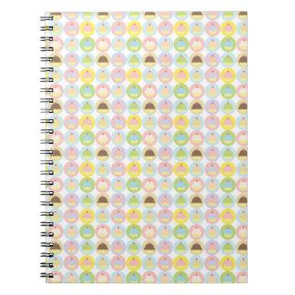 Sweet Cupcake Pattern Notebook