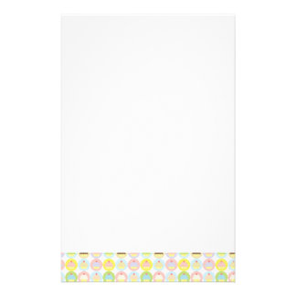Sweet Cupcake Pattern Stationery
