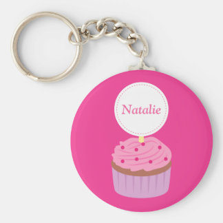 Sweet Cupcake, Pink, For Girls Key Chain
