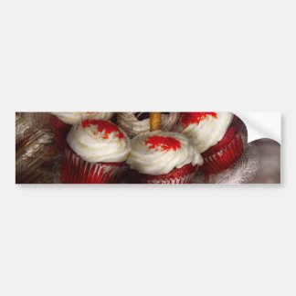 Sweet - Cupcake - Red velvet cupcakes Bumper Sticker