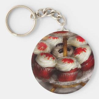 Sweet - Cupcake - Red velvet cupcakes Keychain