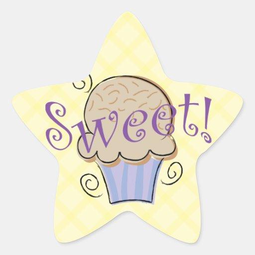 Sweet Cupcake Reward Stickers