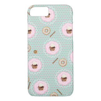 Sweet Cupcakes and Donuts iPhone 7 Case