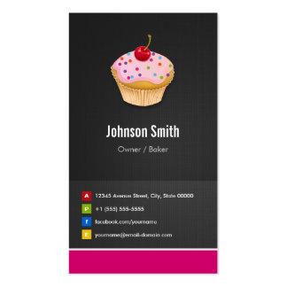 Sweet Cupcakes Bakery - Creative Innovative Business Card