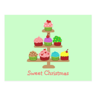 Sweet Cupcakes Christmas Cards