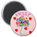 Sweet Cupcakes Gifts magnet