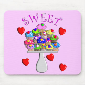 Sweet Cupcakes Gifts Mouse Pad