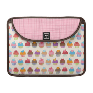 Sweet Cupcakes Rickshaw Sleeve for MacBooks