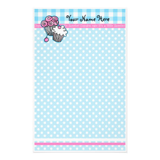 Sweet Cupcakes Stationery