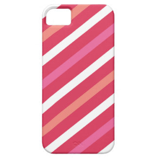 Sweet Cute Candy Stripes Pattern Valentine's Day iPhone 5 Case