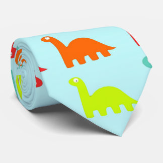 Sweet Cute colorful Dinosaurs Neck Tie