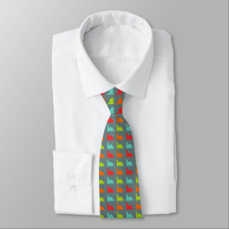 Sweet Cute colorful Dinosaurs Tie