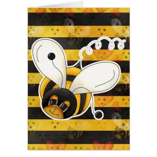 Sweet Cute Little Bumble Bee Card