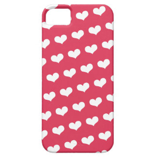 Sweet Cute Love Hearts Pattern Valentine's Day iPhone 5 Case