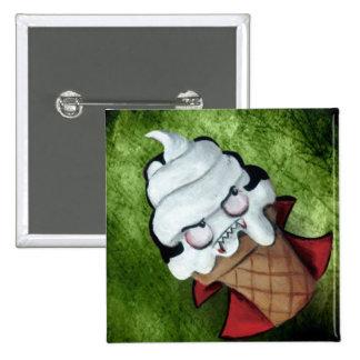 Sweet Cute Vampire Ice Cream Pinback Button