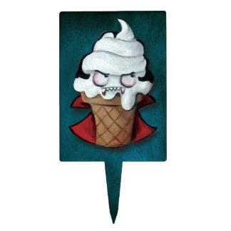 Sweet Cute Vampire Ice Cream Cake Pick