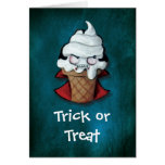 Sweet Cute Vampire Ice Cream Cards