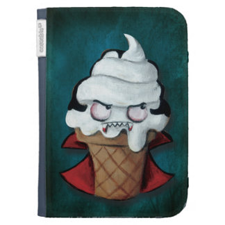 Sweet Cute Vampire Ice Cream Kindle Covers