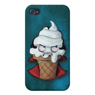 Sweet Cute Vampire Ice Cream iPhone 4 Cases